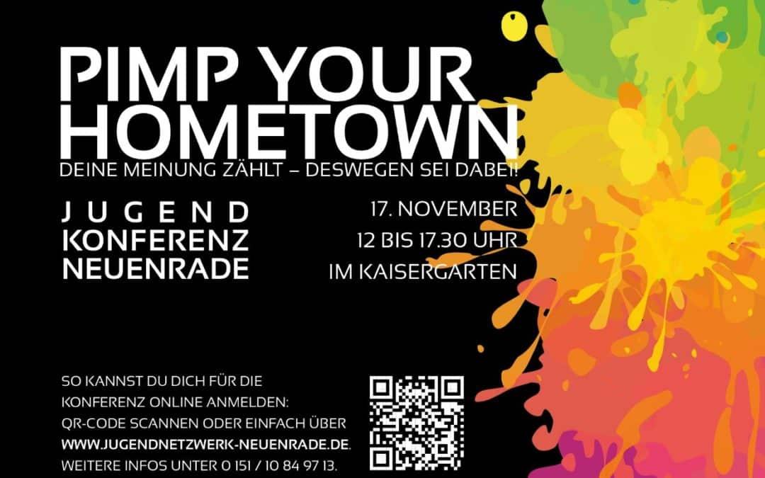 """Kulturfluter e. V. bei Jugendkonferenz """"Pimp your Hometown"""""""